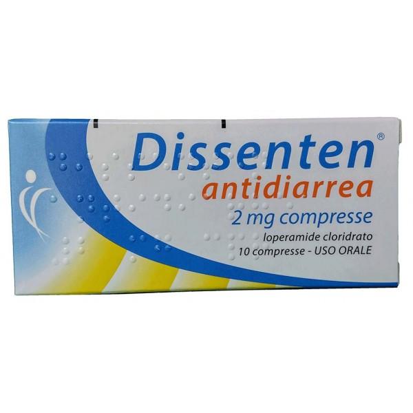 DISSENTEN ANTIDIARREA*10CPR2MG - Farmacia Castel del Monte