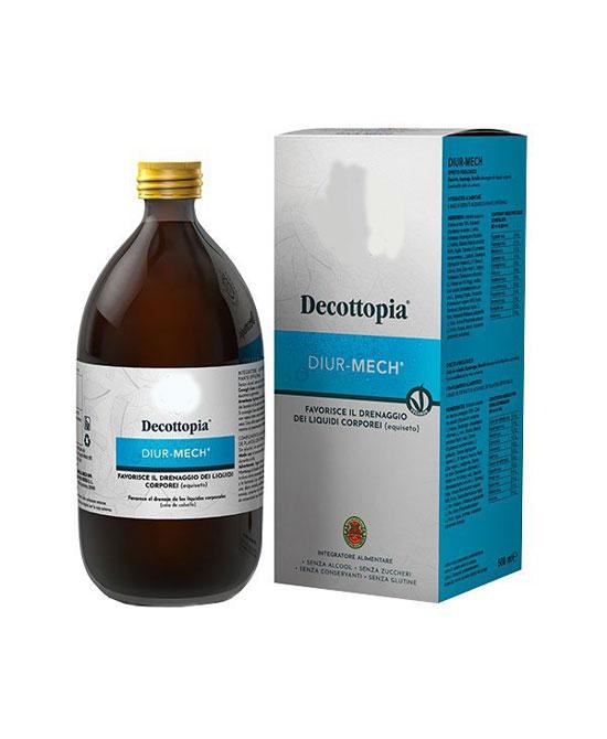 Tisanoreica Decottopia Diur Mech Integratore 500ml - La tua farmacia online