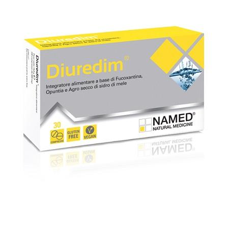 Named Diuredim Integratore Alimentare 30 Compresse - Farmastar.it