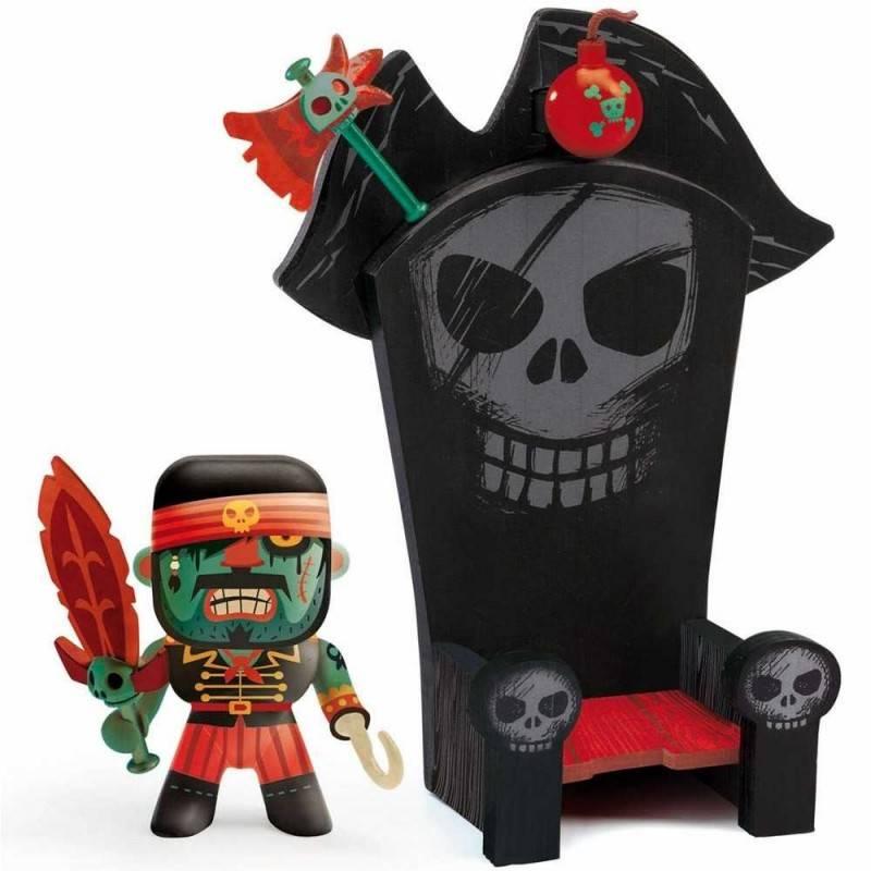 Djeco Pirati - Arty Toys - Kyle & Ze Throne - Farmalilla