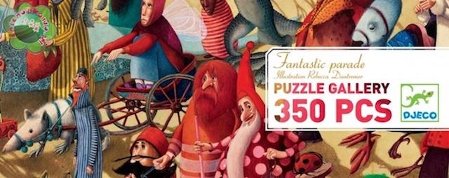 Djeco Puzzle Gallery - Fantastic Parade - Farmalilla
