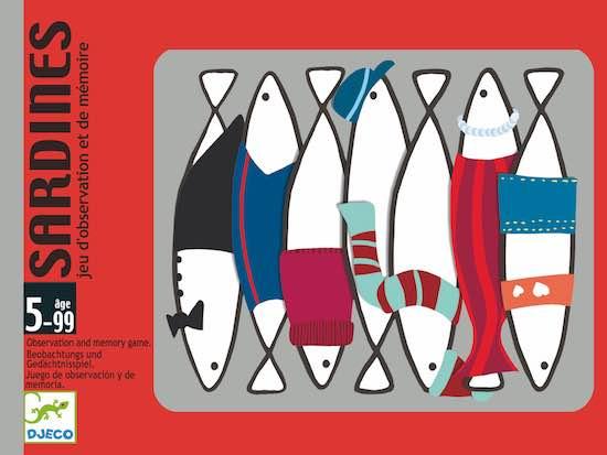 Djeco Sardines - Gioco Di Carte - Farmalilla