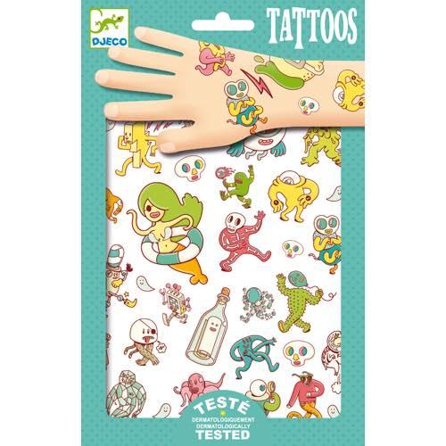 Djeco Tatuaggi Crazy Characters - Farmalilla