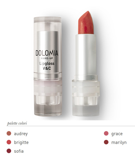Dolomia Lipgloss V&C Lucidalabbra Colore 92 Brigitte - latuafarmaciaonline.it