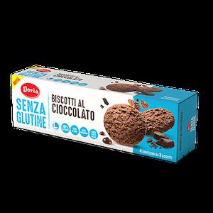 Doria Biscotti al Cioccolato senza Glutine 4 x 37,5 - Arcafarma.it