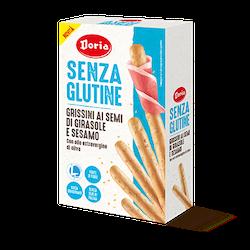 Doria Grissini ai Semi di Girasole e Sesamo senza Glutine 5 x 20g - Arcafarma.it