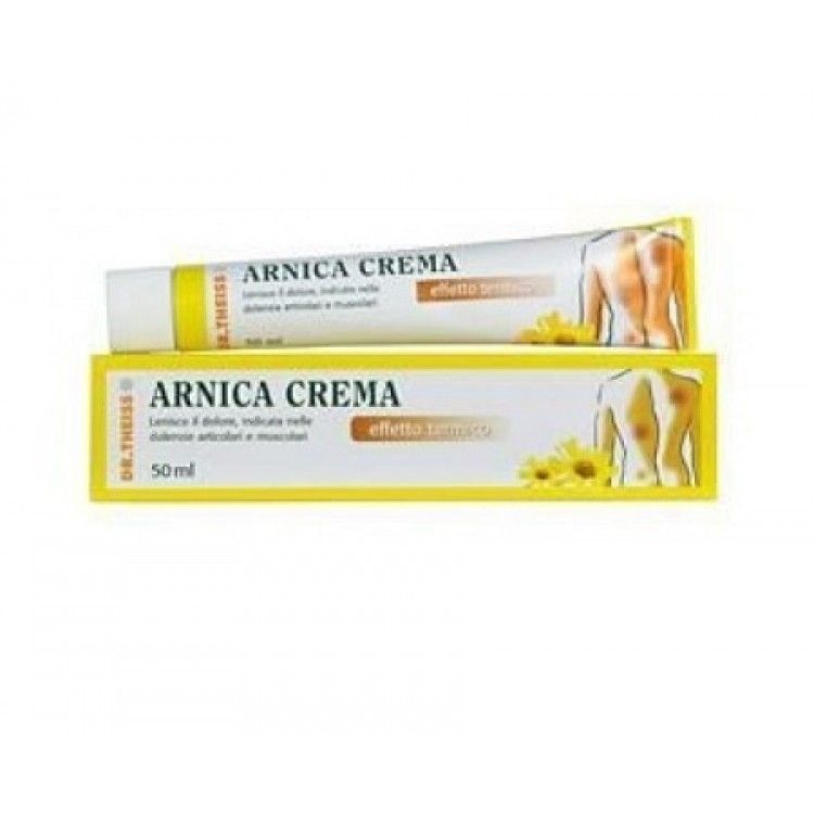 Dr Theiss Arnica Pomata Riscaldante 50g - Farmaciapacini.it