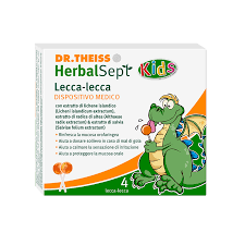 DR THEISS HERBALSEPT KIDS LOLLIPOPS 4 PEZZI - Farmacia Giotti