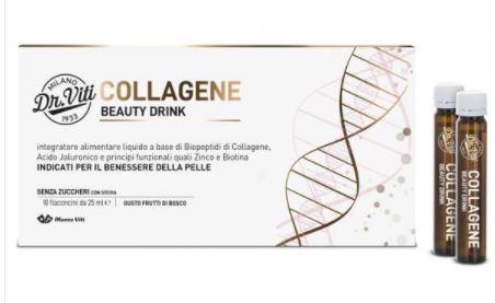 DR VITI COLLAGENE BEAUTY DRINK 250 ML - Zfarmacia