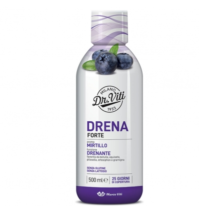 DRENA FORTE MIRTILLO 500 ML - latuafarmaciaonline.it
