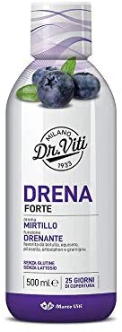 DRENA FORTE MIRTILLO 500 ML - farmasorriso.com