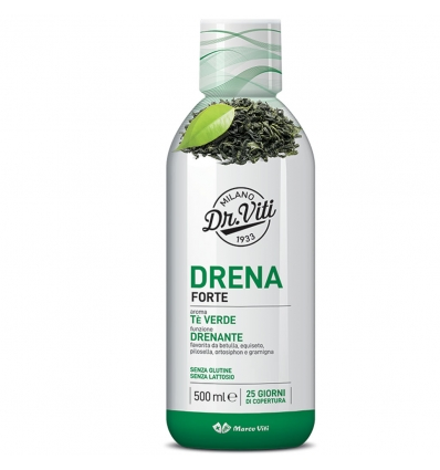 Marco Viti Drenante DRENA FORTE TE' VERDE 500 ML - Farmafamily.it