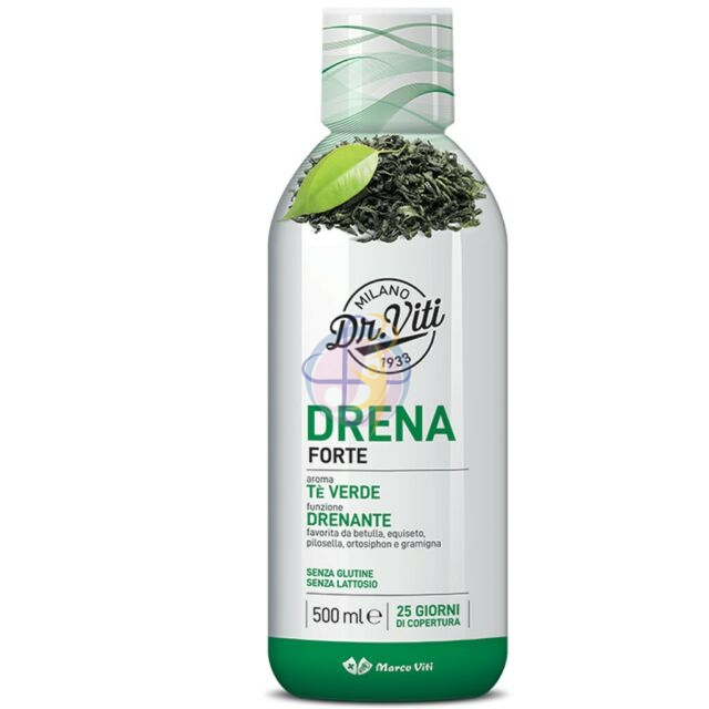 DRENA FORTE TE' VERDE 500 ML - Farmaunclick.it