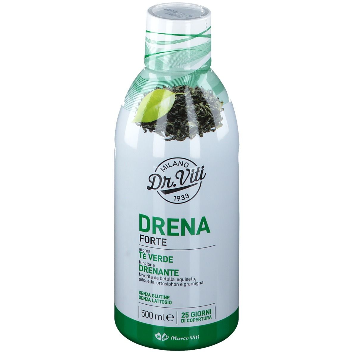 DRENA FORTE TE' VERDE 500ML - Speedyfarma.it