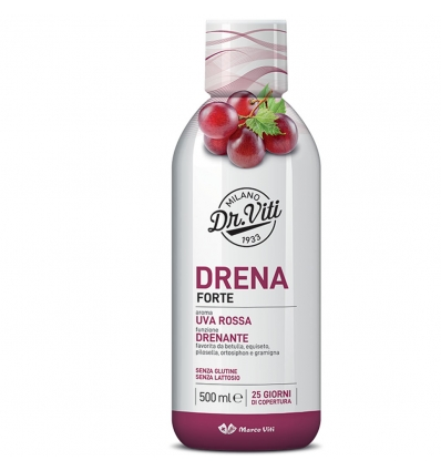 DRENA FORTE UVA ROSSA 500 ML - Nowfarma.it