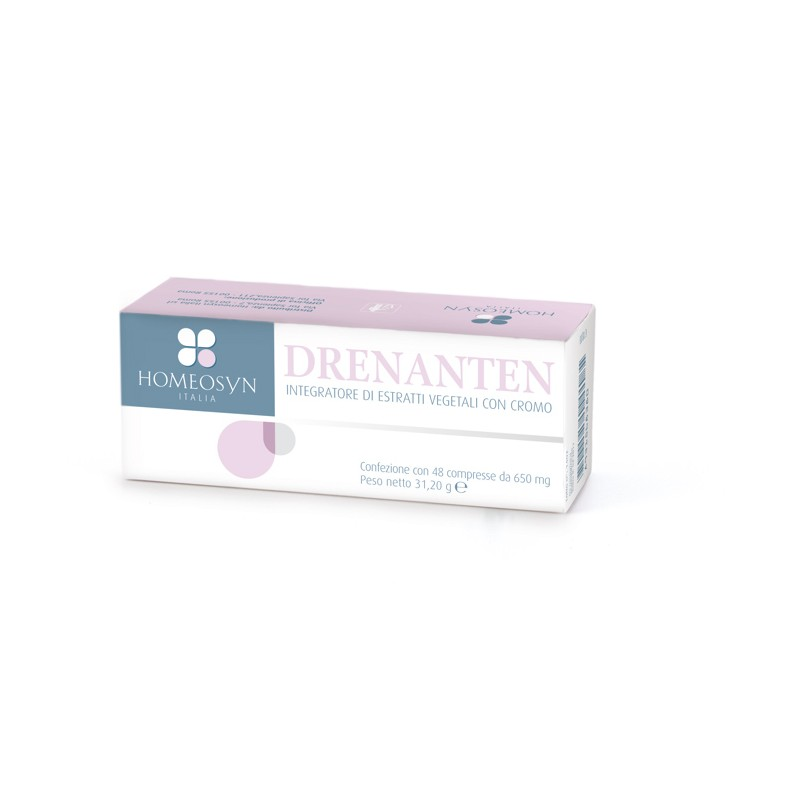 DRENANTEN 48 COMPRESSE - Iltuobenessereonline.it