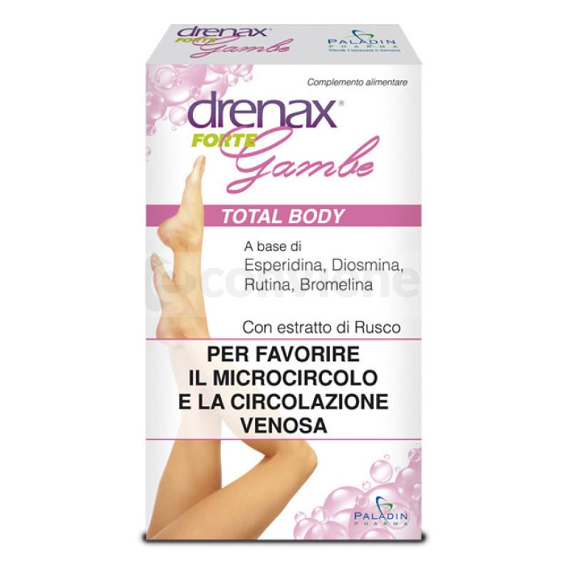 DRENAX FORTE GAMBE 30 COMPRESSE - Farmacia Massaro