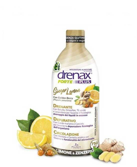 Drenax Forte Plus Ginger Lemon 750 Ml - latuafarmaciaonline.it