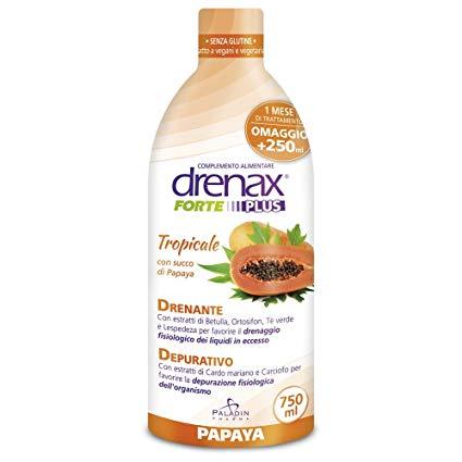 DRENAX FORTE PAPAYA 750 ML - pharmaluna
