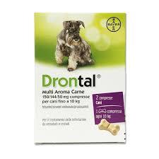 Drontal multi Aroma Carne 2 cpr - Farmalilla