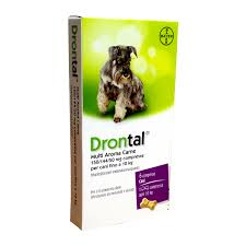 Drontal Multiaroma carne 6 cpr - Farmalilla
