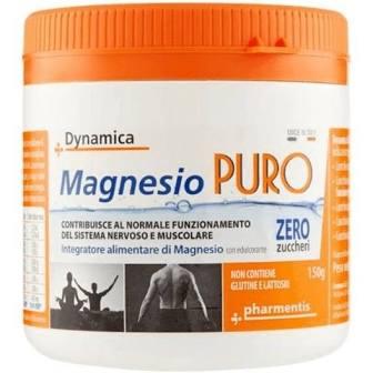 Dynamica Magnesio Puro Integratore Alimentare 150 g - Iltuobenessereonline.it