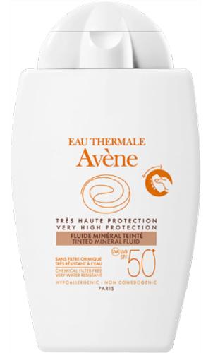 EAU THERMALE AVENE SOLARE FLUIDO MINERALE 50+ 40 ML - Farmacia Centrale Dr. Monteleone Adriano