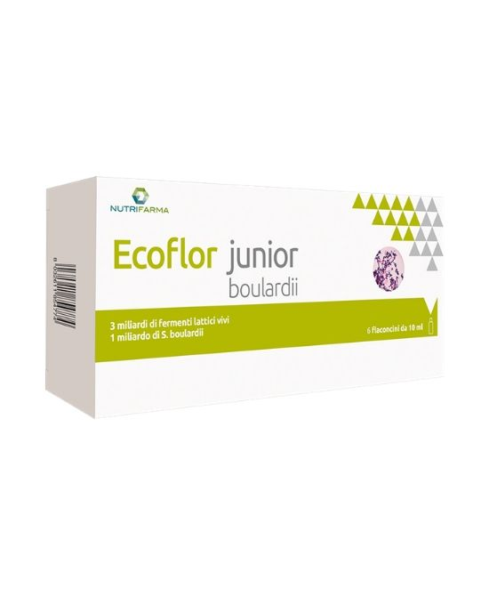 ECOFLOR JUNIOR BOULARDII 10 FLACONCINI X 10 ML - Farmapage.it