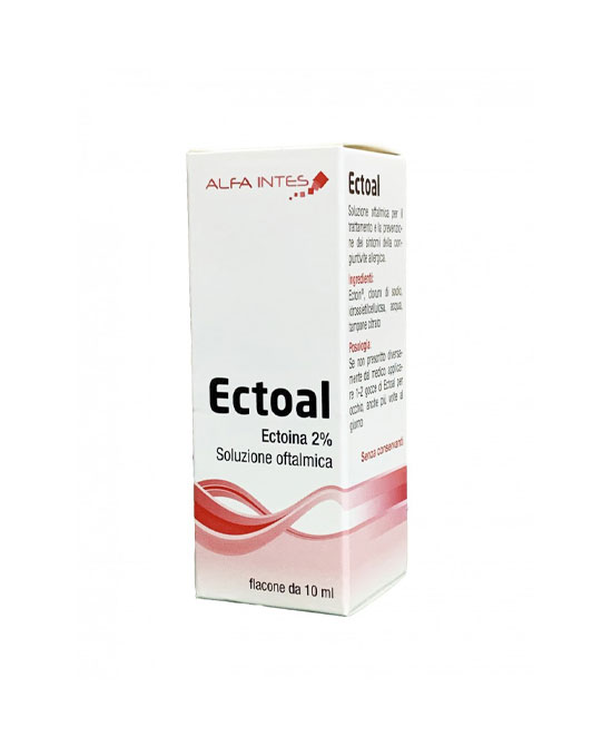 Ectoal soluzione oftalmica flacone 10 ml - latuafarmaciaonline.it