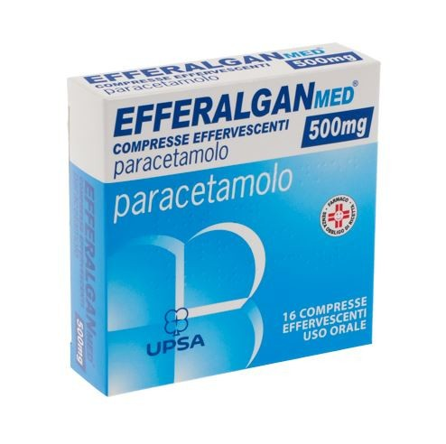 EFFERALGANMED*16CPR EFF 500MG - FARMAPRIME