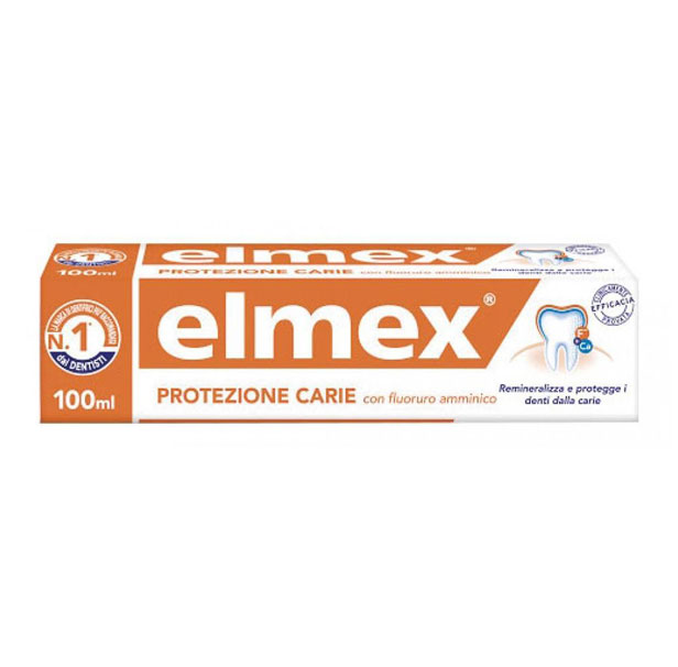 Elmex protezione carie 100 ml - latuafarmaciaonline.it