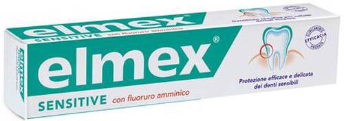 ELMEX DENTIFRICIO SENSITIVE CON FLUORURO AMMINICO 100 ML - Farmacia Centrale Dr. Monteleone Adriano
