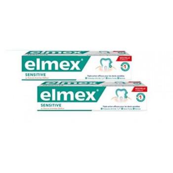 ELMEX SENSITIVE DENTIFRICIO BITUBO 2X75 ML - farmaciafalquigolfoparadiso.it