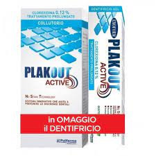 EMO PLAKOUT ACTIVE 0,12% BIPACK COLLUTTORIO 200 ML + DENTIFRICIO 75 ML PROMO - FARMAEMPORIO