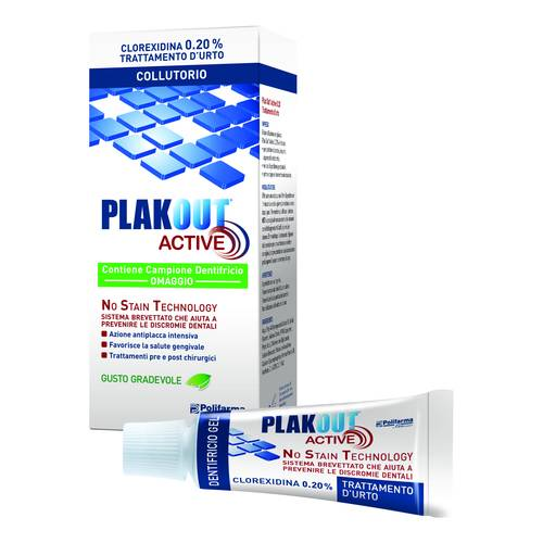 EMO PLAKOUT ACTIVE 0,20 COLLUTORIO 200 ML + DENTIFRICIO 75 ML - Farmapage.it