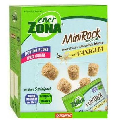 EnerZona Enervit MiniRock 40-30-30 Con Vaniglia Senza Glutine 24g 5 MINIPACK - Farmacia 33