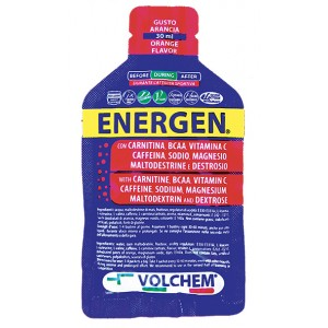 ENERGEN GEL ENERGIZZANTE G 30 ML ARANCIA - Spacefarma.it