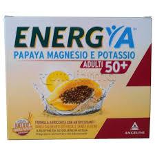 ENERGYA PAPAYA MAGNESIO POTASSIO 50+ 14 BUSTINE - Turbofarma.it