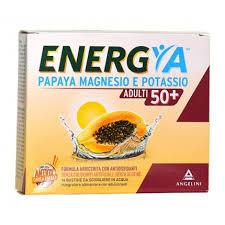 ENERGYA PAPAYA MAGNESIO POTASSIO 50+ 14 BUSTINE - Farmastop