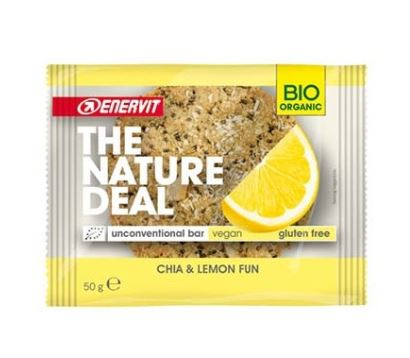 ENERVIT NATURE DEAL COOKIE CHIA&LEMON 50 G - Farmacia 33
