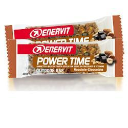 ENERVIT POWER TIME BARRETTA SENZA GLUTINE AL CIOCCOLATO 1 PEZZO - Farmafamily.it