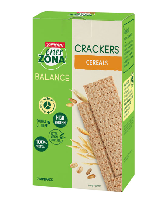 ENERZONA CRACKERS CEREALS  175 grammi 7 minipack - La tua farmacia online