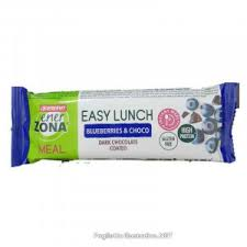 ENERZONA EASY LUNCH BLUEBERRY & CHOCO BARRETTA 58 G - farmaciafalquigolfoparadiso.it