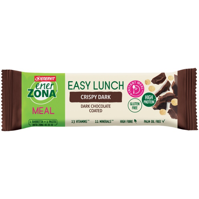 ENERZONA EASY LUNCH CRISPY DARK 58 G - Farmastar.it