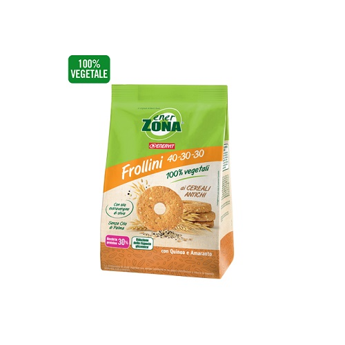 ENERZONA FROLLINI VEG CEREALI ANTICHI 250 G - Farmafamily.it