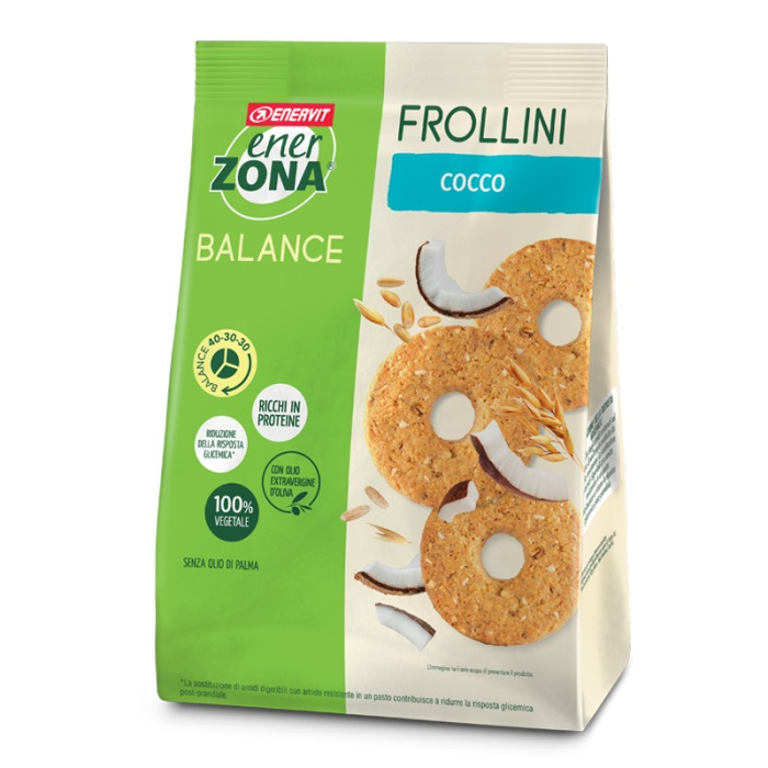 ENERZONA FROLLINI COCCO 40-30-30 250 gr - Farmafamily.it