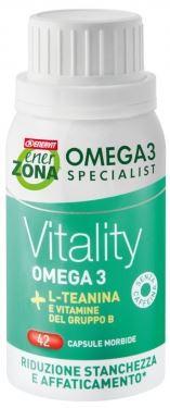 ENERZONA OMEGA 3 RX VITALITY 42 CAPSULE - Farmacia 33