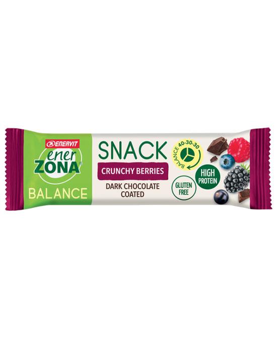 Enerzona snack crunchy berries 33 g - latuafarmaciaonline.it