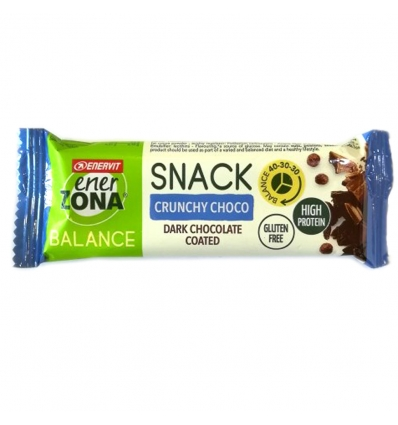 ENERZONA SNACK DOUBLE CHOCO 33 G - Farmastar.it