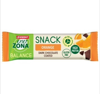 ENERZONA SNACK ORANGE 33 G - Farmafamily.it